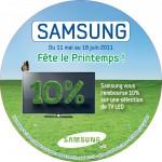 ODR Samsung -10% LED