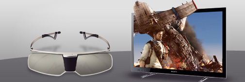 Lunettes 3D Sony TDG BR 750