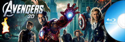 Blu-ray Avengers 3d