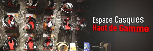 Espace Casque haut de gamme