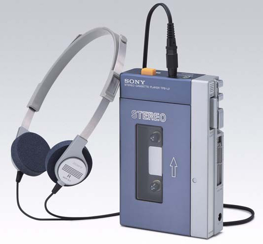 Le Sony TPS-L2 Walkman
