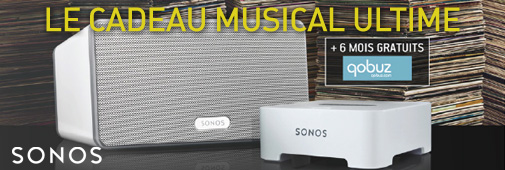 Sonos Play:3 + Bridge + 6 mois Qobuz