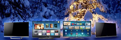 Téléviseur Noël