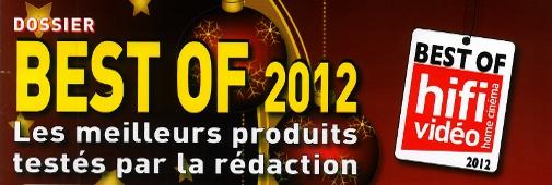 Les meilleurs produits Hi-Fi/Home-Cinéma 2012