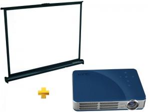 Vivitek Qumi Q5 + écran Lumen TableShow 80V