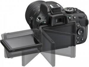Nikon D5200 Écran orientable
