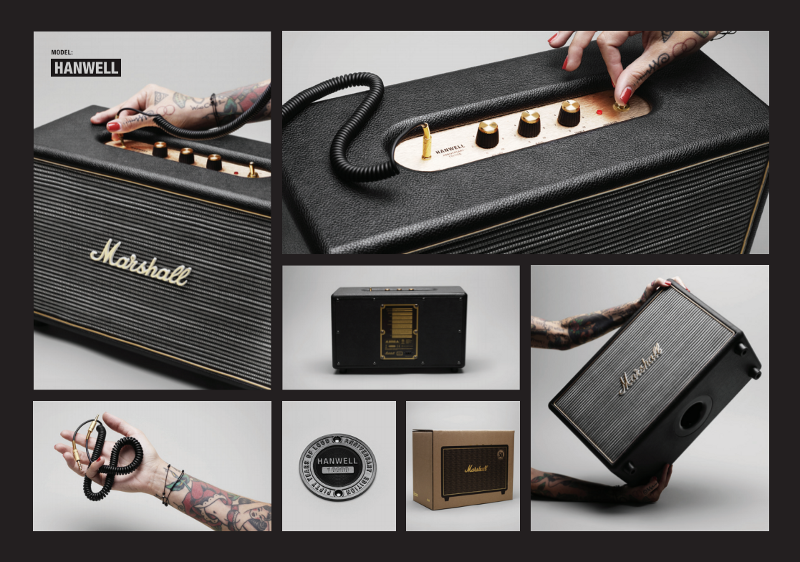 Marshall Hanwell Anniversary Edition - différentes vues