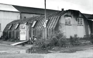Le baraquement KEF au début des années 60