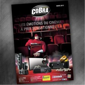 Catalogue Cobra Mars 2013 : les émotions du cinéma à prix sensationnels !