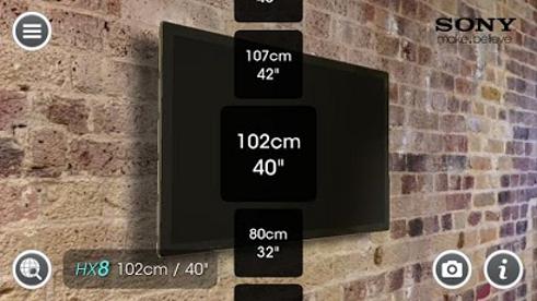 quelle taille d 39 cran plat l 39 appli indispensable blog cobra. Black Bedroom Furniture Sets. Home Design Ideas