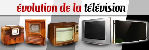 évolution de la télévision