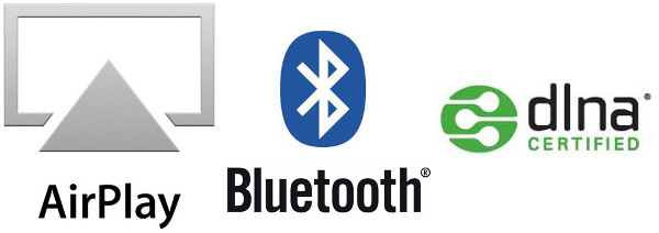 Technologies sans fil AirPlay - Bluetooth - DLNA