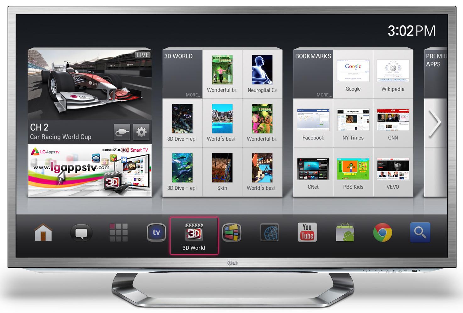Portail LG Smart TV