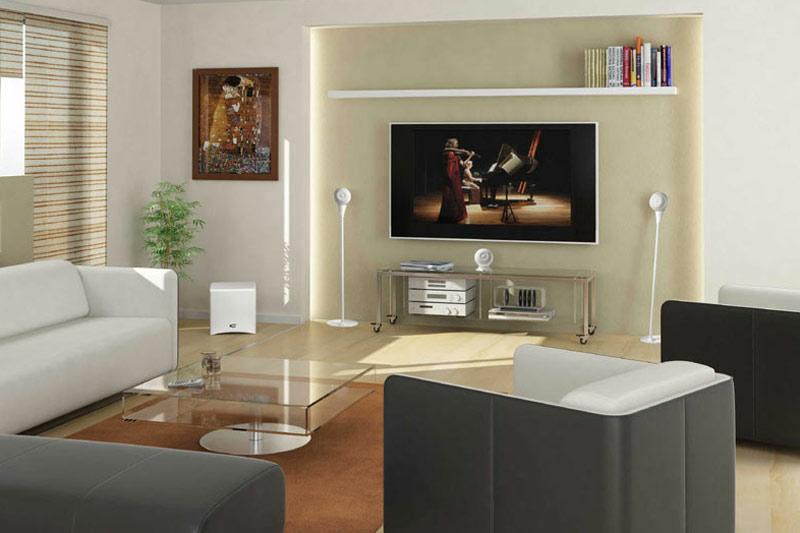 Système d'enceinte Home-cinéma 5.1 Cabasse Eole 3 intégré