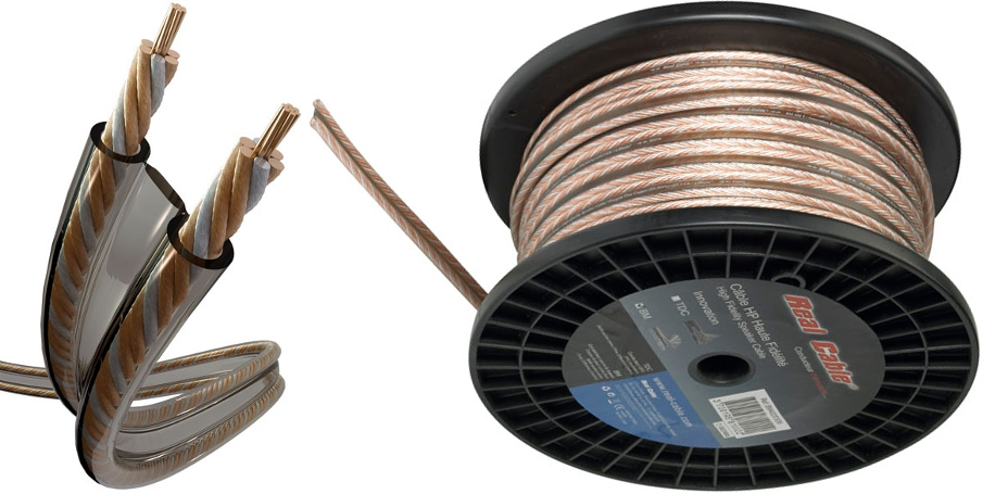 Câble d'enceintes bi-métaux
