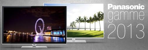 Gammes TV 2013 Panasonic (VT60, E6, ET60, ST60, DT60...)