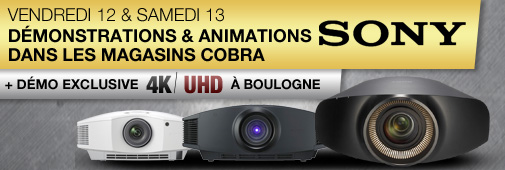 Week End Sony : bon plan et 4K UHD
