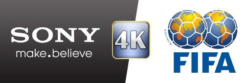 Sony / FIFA : la coupe du monde en 4K