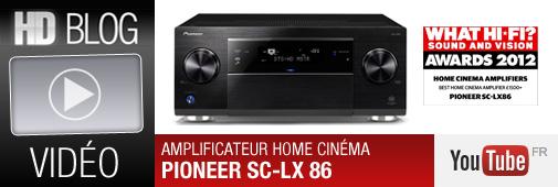 Vidéo de l'ampli Pioneer SC-LX86 par Cobrason