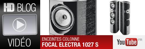 Enceinte colonne Focal Electra 1027 S