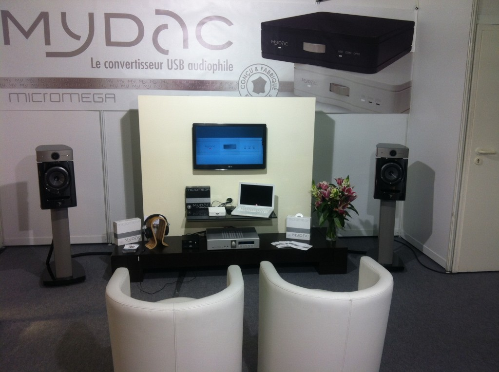 Salon High-End 2012 : stand micromega