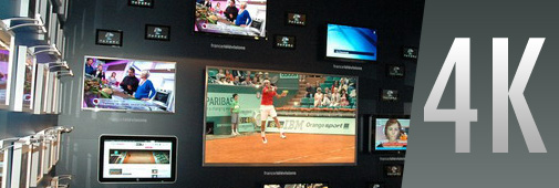 Roland Garros en 4K ?