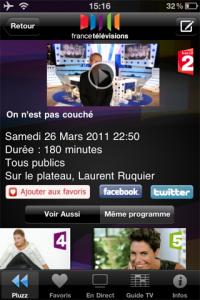 Appli FranceTV !