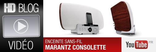 Clip vidéo de l'enceinte sans-fil Marantz Consolette (MS7000)
