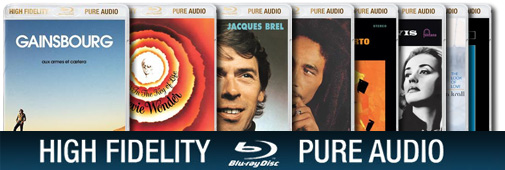 Blu-ray Pure Audio