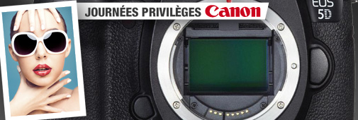 Canon, journée privilèges : nettoyage capteur