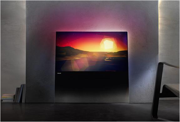 philips designline 2013 la plus belle smart tv au monde. Black Bedroom Furniture Sets. Home Design Ideas