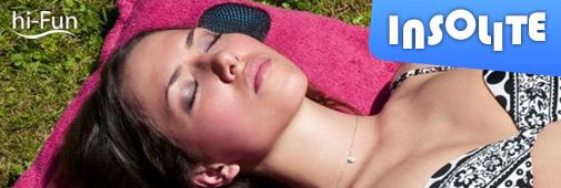 Hi-Fun Hi-Sun : drap de bain insolite pour music addict !