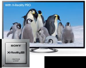 Processeur X-Reality Pro sur les séries W805 et W905