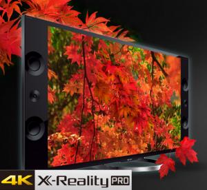 Processeur 4K X-Reality Pro du Sony X9 4K