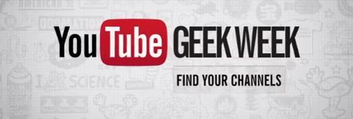 Youtube Geek Week : le programme