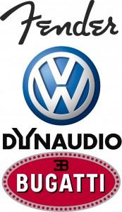 Dynaudio Fender Volkswagen Bugatti