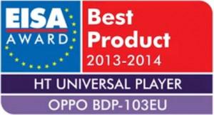 Oppo BDP-103 Prix EISA