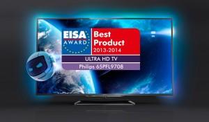 Prix EISA Philips 65PFL9708