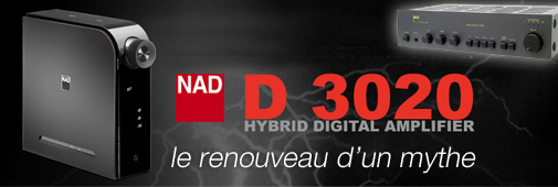 NAD D3020 : le renouveau d'un mythe