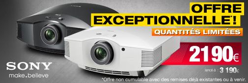 Offre Cobrason Sony VPL-HW50
