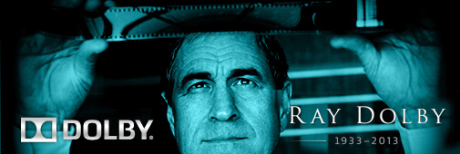 Ray Dolby (1933 - 2013)