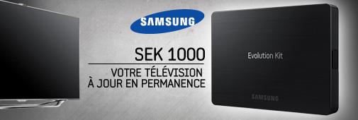 Samsung SEK-1000 : kit d'évolution pour Smart TV Samsung
