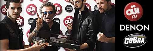 Concours Ouï FM / Denon / Cobra