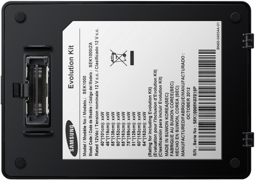 Connecteur du Samsung SEK-1000 à brancher au dos de votre TV