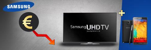 Samsung TV : baisse de prix et ODR