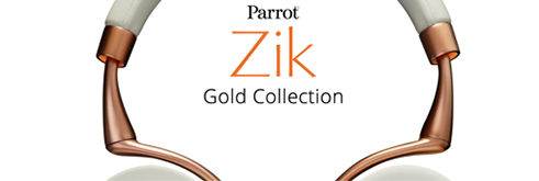 Parrot Zik Gold Collection