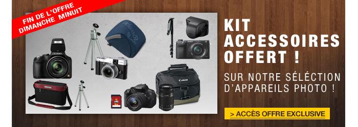 offres kit d'accessoires photo offerts