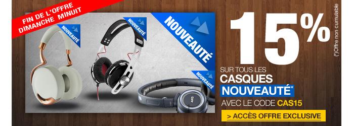Offre casques audio
