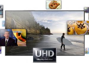 TV UHD Samsung série F9000, disponible en 55'' et 65''