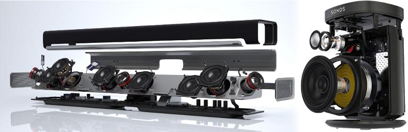 Conception des appareils Sonos